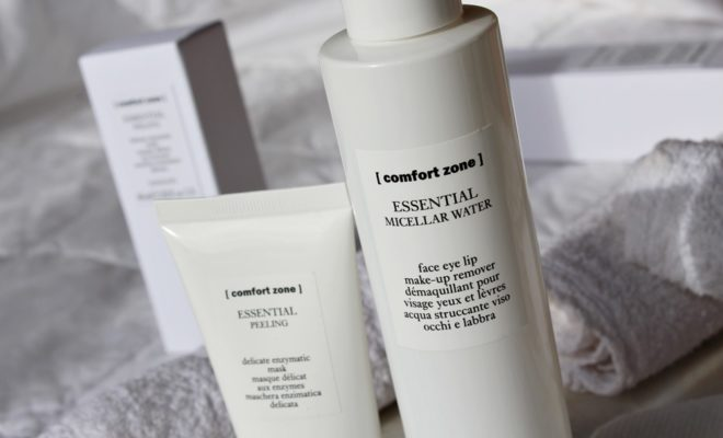comfort zone Essential detersione kate on beauty