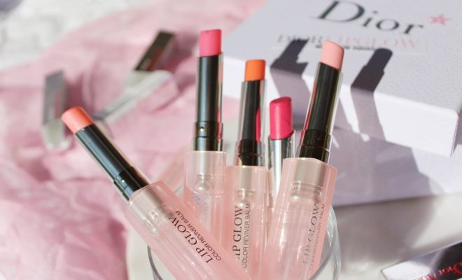 Dior Lip Glow lipbalm makeup Kate on Beaut