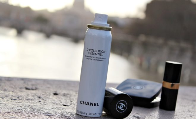 Chanel D-Pollution Essentiel mist brume anti-inquinamento Kate on beauty