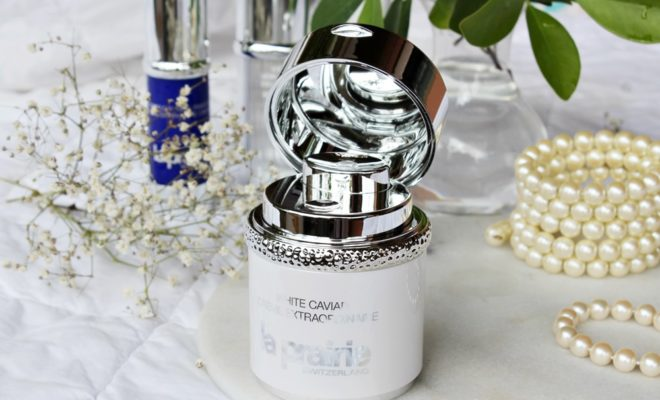 La Prairie White Caviar Crème Extraordinaire crema illuminante kate on beauty