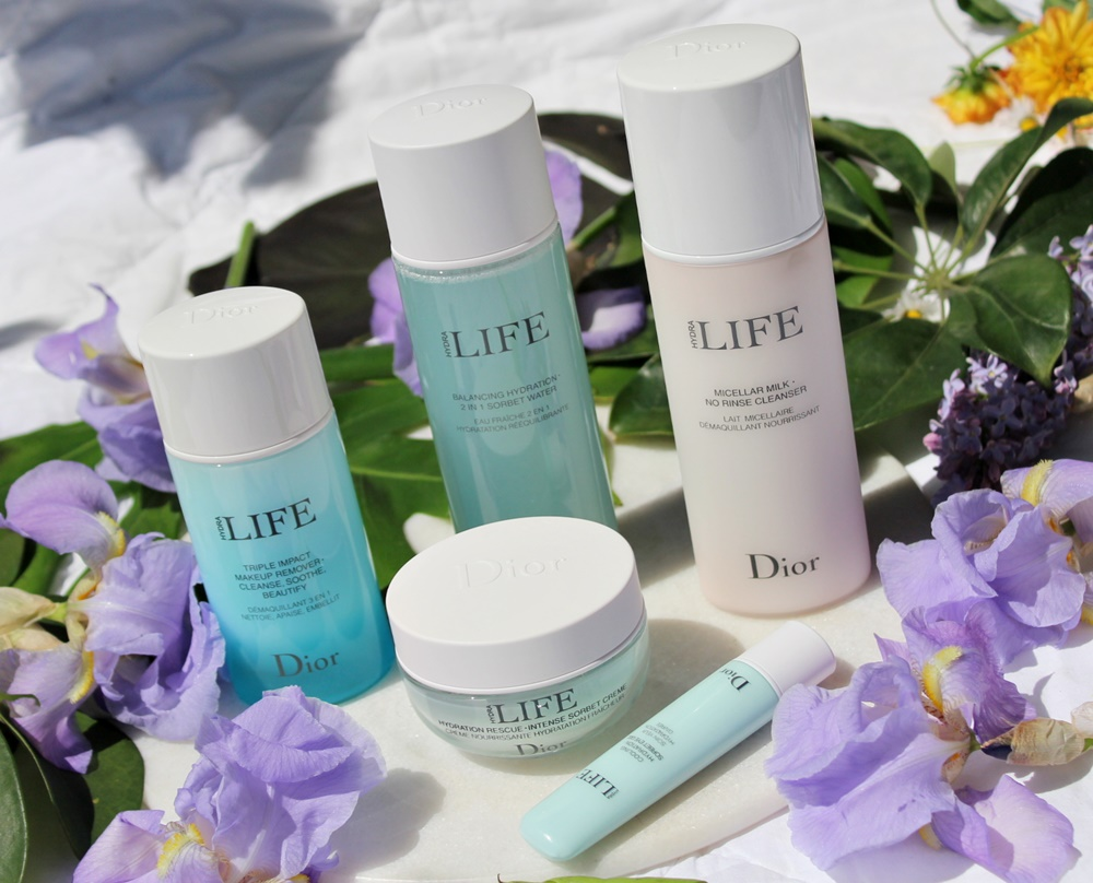 dior hydra life skincare bellezza naturale programma sorbetto detergenti kate on beauty
