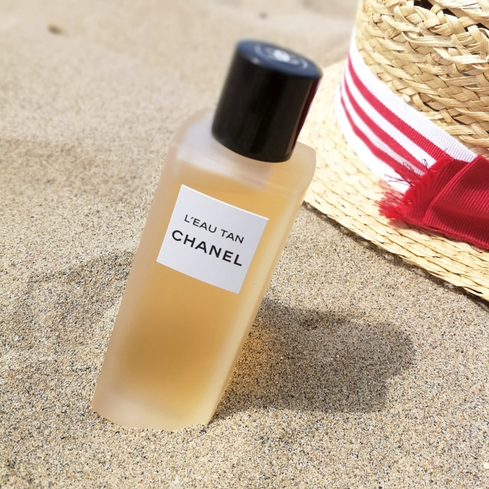 l'eau tan di chanel brume acqua autoabbronzante kate on beauty