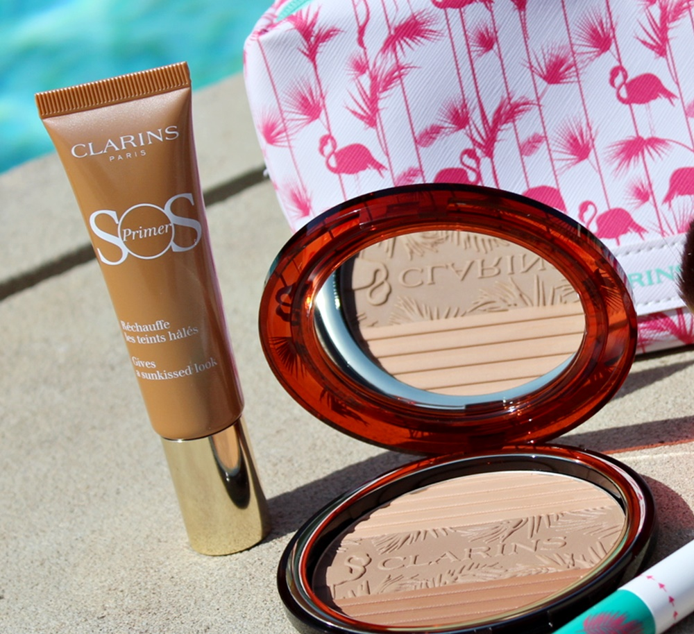 sunkissed clarins make-up estate kate on beauty