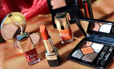 Dior En Diable fall look 2018 makeup kate on beauty