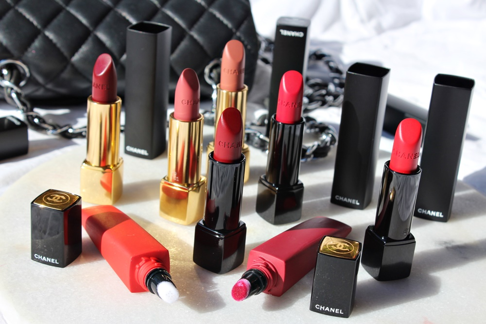 chanel rouge allure 2018 rossetti mat makeup kate on beauty