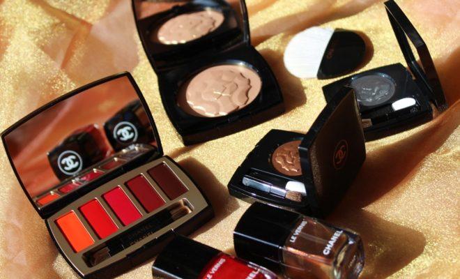 COLLECTION LIBRE 2018 MAXIMALISME DE CHANEL makeup natale kate on beauty