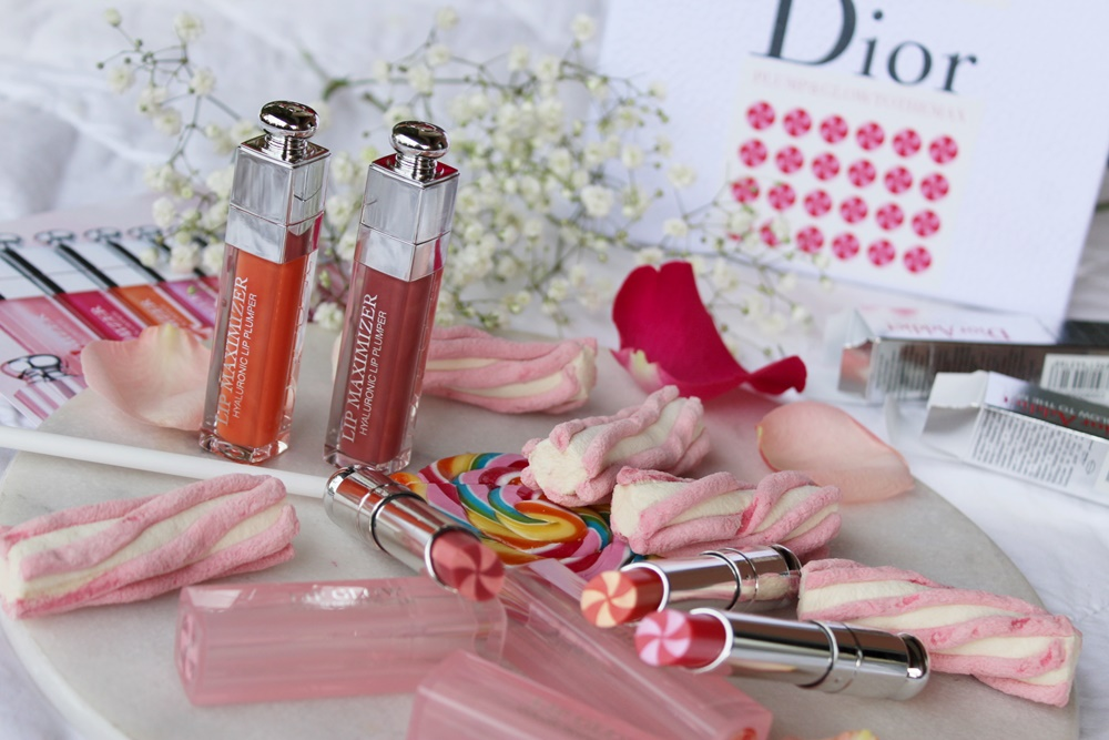 Dior Lip Maximizer e Lip Glow To The Max makeup labbra kate on beauty