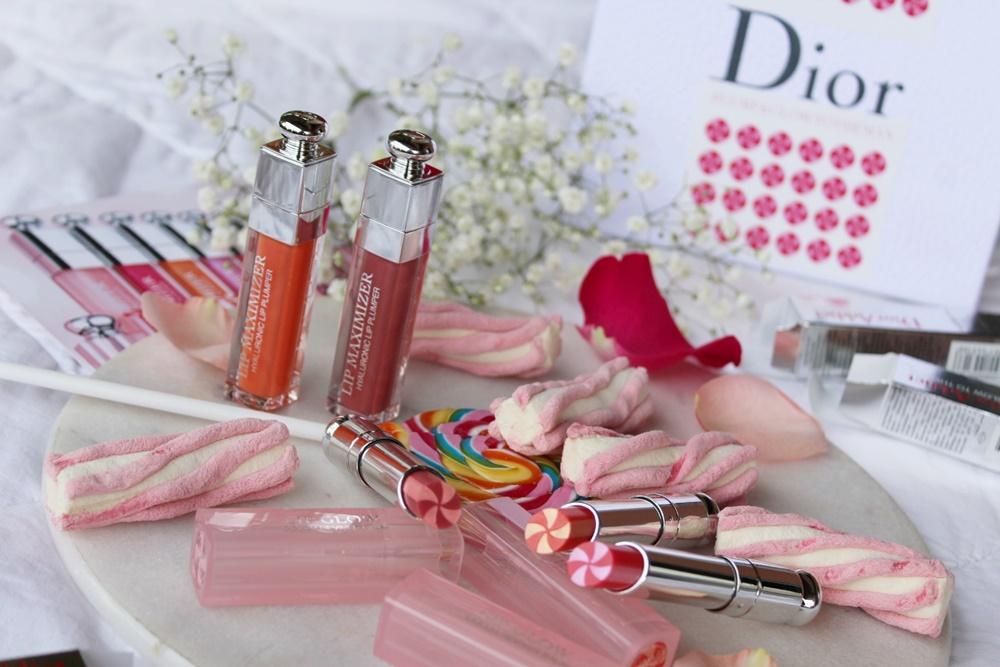 Dior Lip Maximizer e Lip Glow To The Max makeup labbra kate on beauty