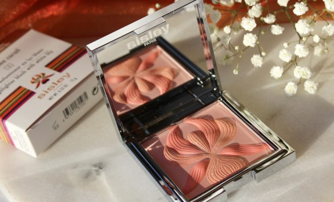 l'orchidée corail blush sisley paris kate on beauty