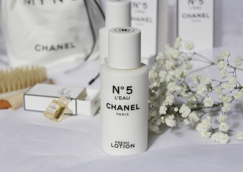 N°5 l'Eau In-Shower Gel e N°5 l'Eau Fresh Lotion