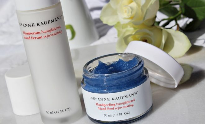Susanne Kaufmann Hand Trio peel serum mani green beauty kate on beauty
