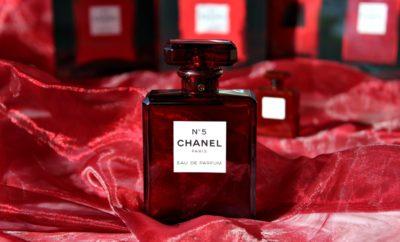 chanel N°5 RED edizione limitata eau de Parfum natale Kate on beauty